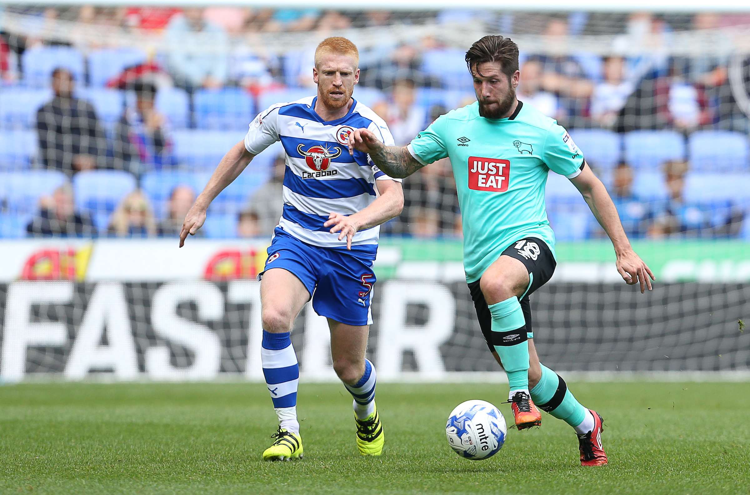 Championship Playoffs: Reading steal 1st-leg draw away to Fulham